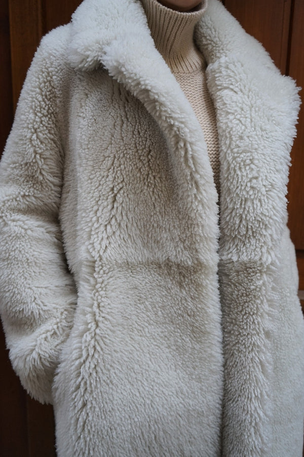 Sherling Coat ecru
