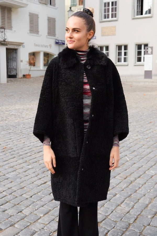Sherling Coat black