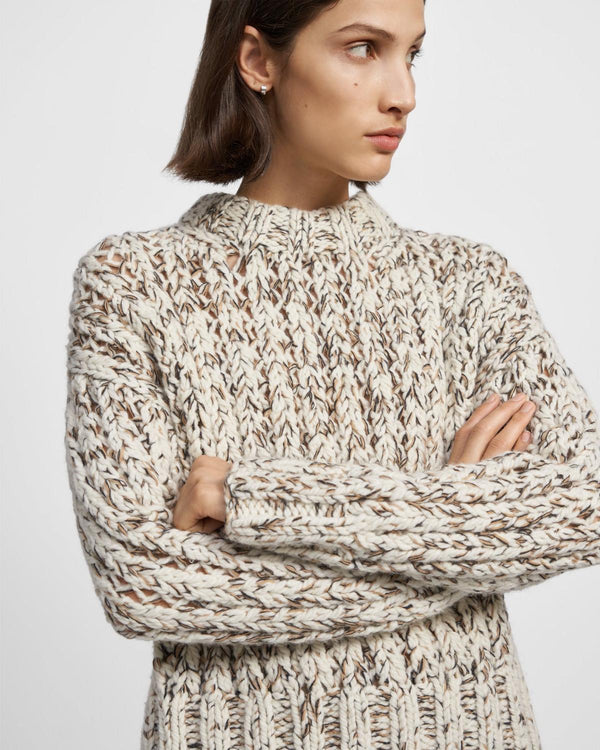 Hand-Knit Sweater in Wool