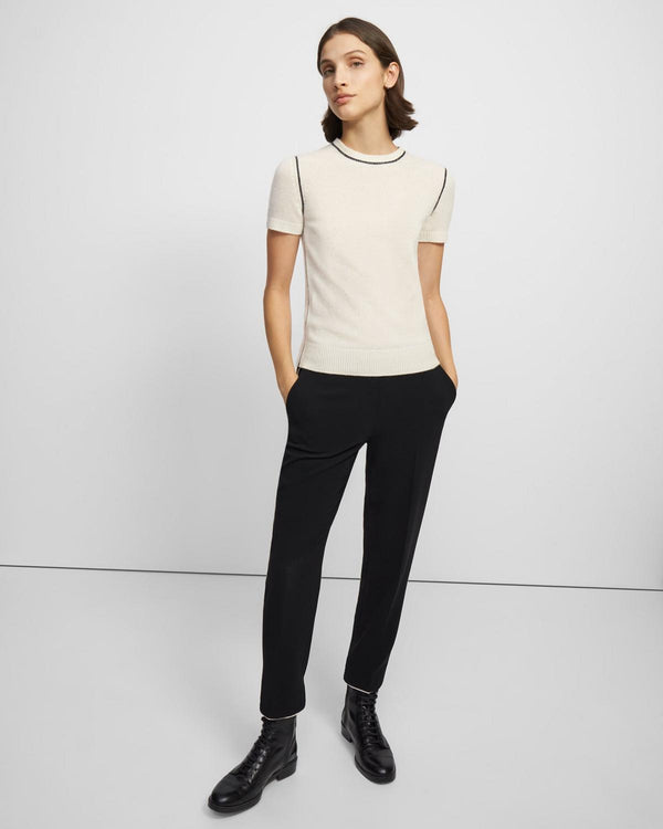 Basic Tee in Cashmere