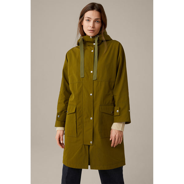Parka in Olive green