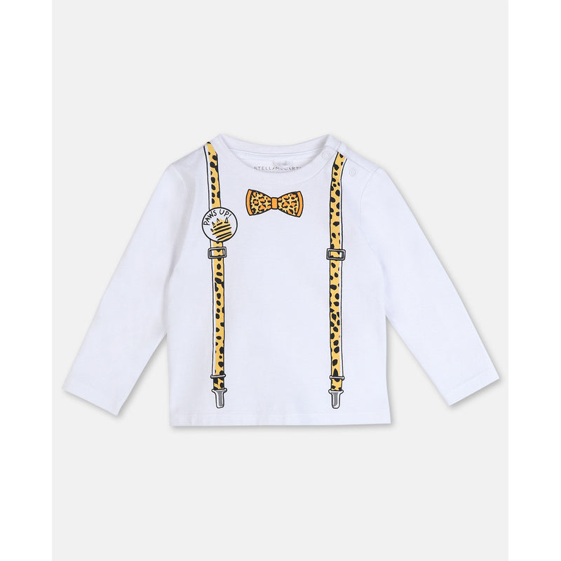 Suspenders Cotton T-shirt