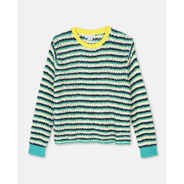 Zigzag Oversize Knit Sweater