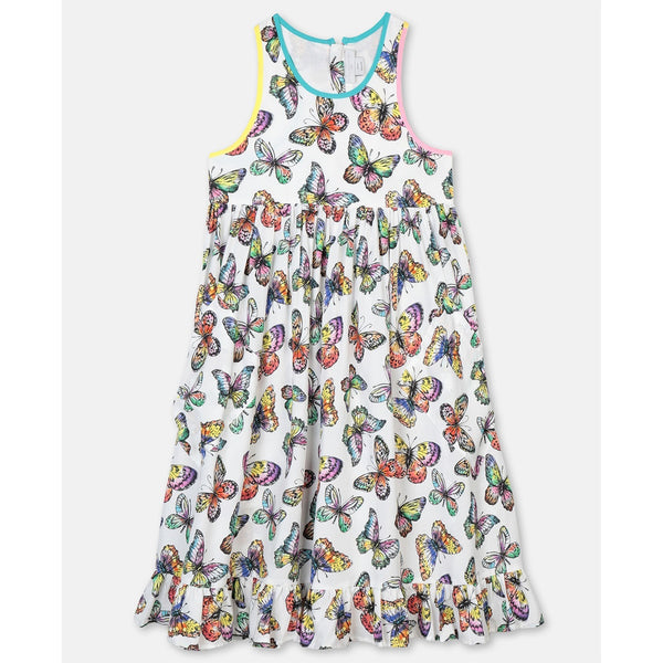 Butterfly Viscose Dress
