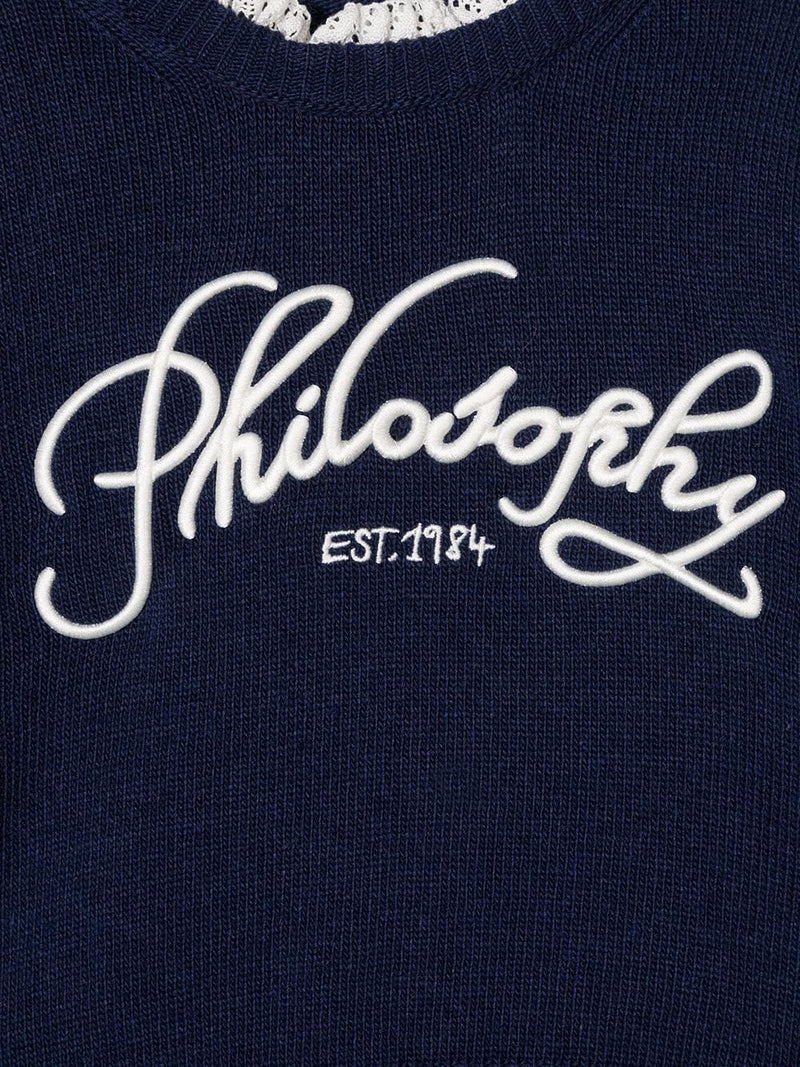 Sweater with Philosophy Logo
