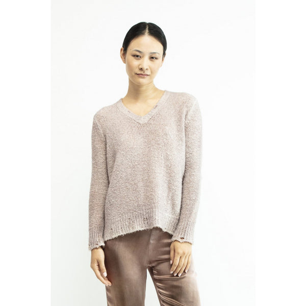 V-Neck Sweater used look