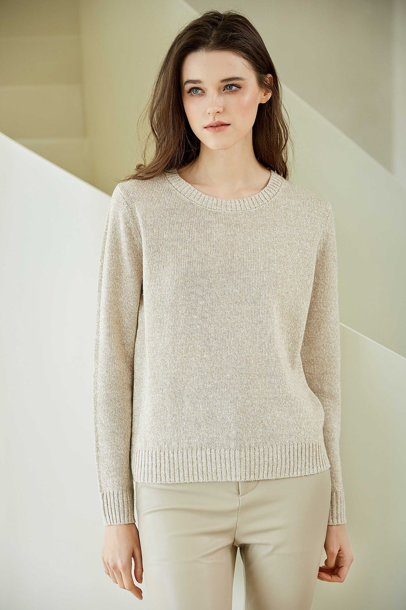 Linen Cashmere Sweater
