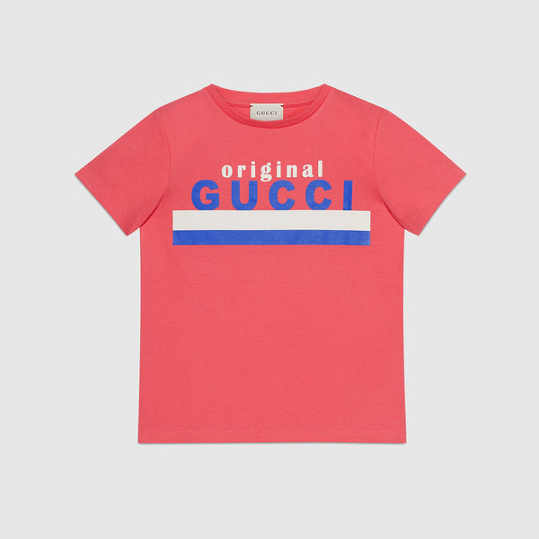 "Children's ""Original Gucci"" Cotton T-shirt"