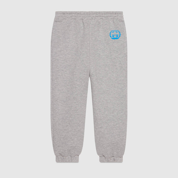 Children's jogging bottoms with Interlocking G