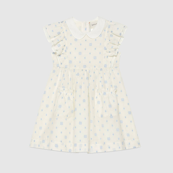 Children's GG dots cotton dress