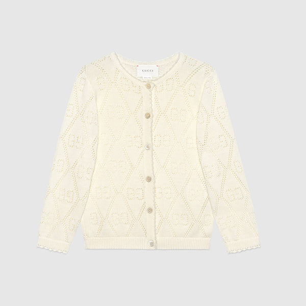 Children's GG cotton cardigan