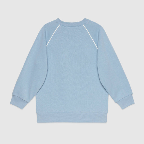 Children's Gucci disk print sweatshirt
