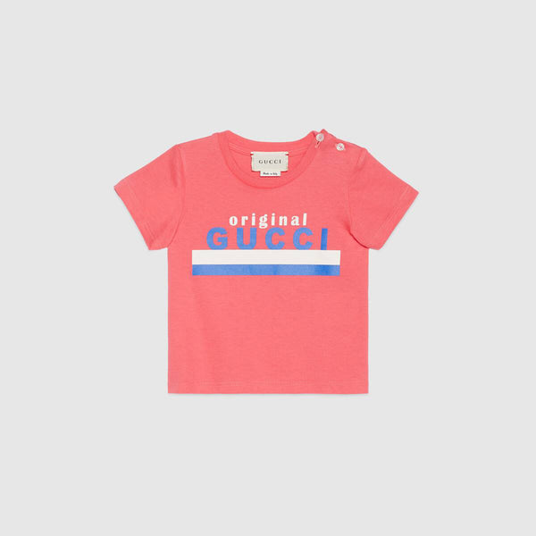 "Baby ""Original Gucci"" Cotton T-shirt"