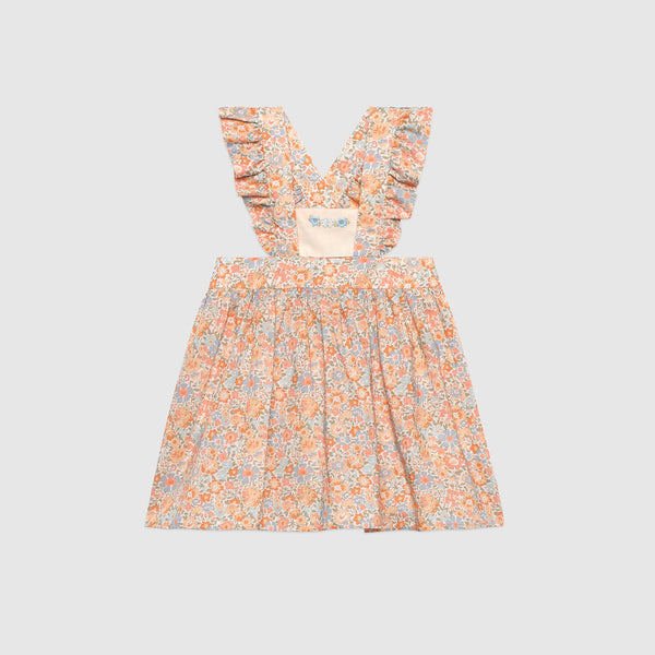 Baby Gucci Liberty floral cotton dress