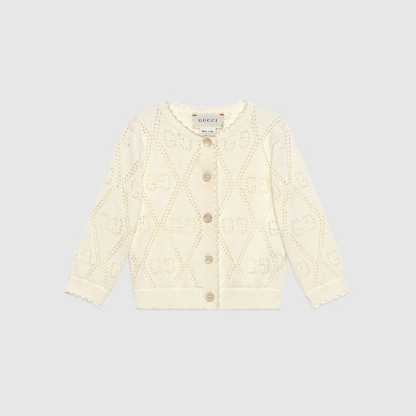 Baby GG cotton cardigan