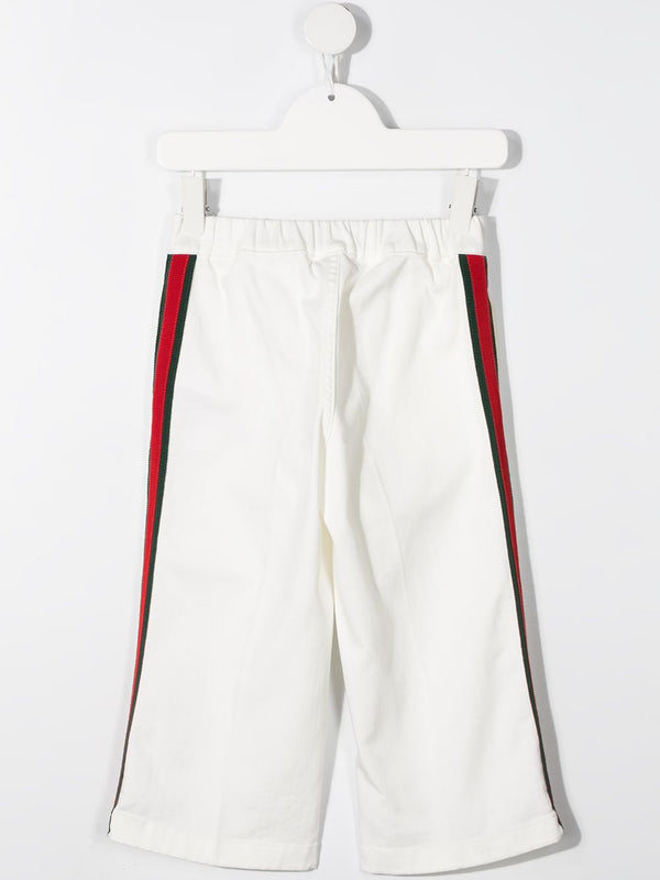 Sylvie Web-detail trousers