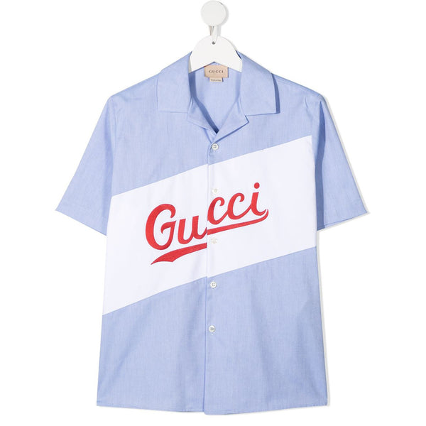 Gucci logo-print Oxford shirt