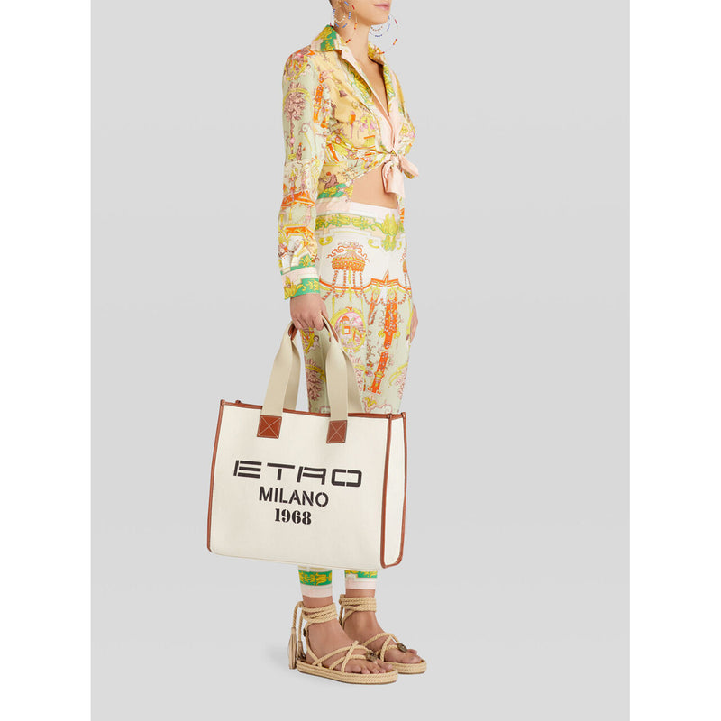 ETRO MILANO 1968' SHOPPING BAG S