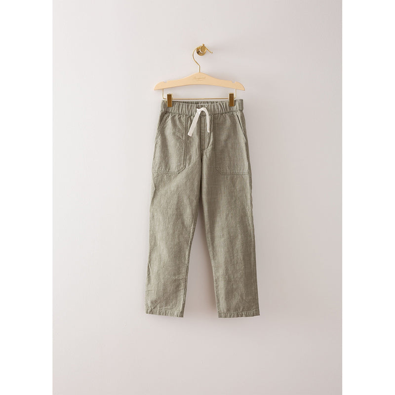 Green/Beige Boy's Pants