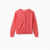 OPENWORK COTTON CARDIGAN GRENADINE
