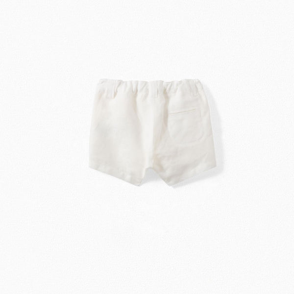 ACADEMY SHORTS MILK WHITE