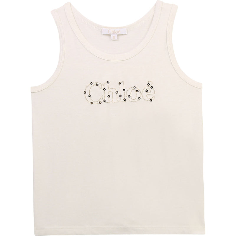 Tank Top with Sequins