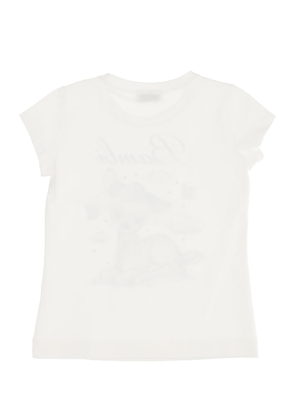 Printed jersey T-shirt with Bambi