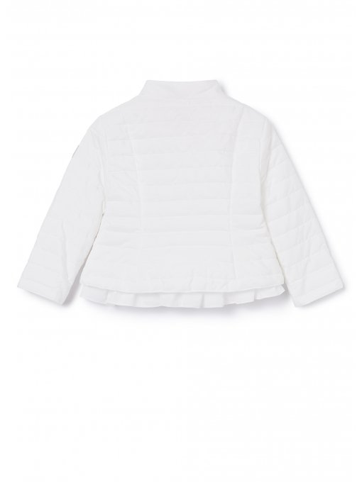 Padded Jacket white