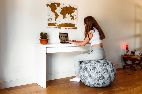 Groovin' From Home: Comfort and Posture For #WFH