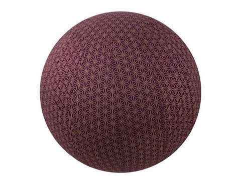 Plum Geometric Ball Cover