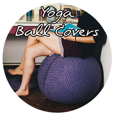 Yoga ball covers
