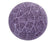 55cm Balance Ball / Yoga Ball Cover: Purple Palm Leaf