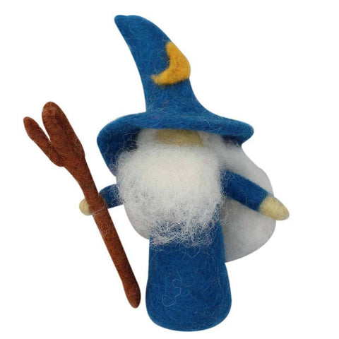 Wizard Felt Ornament - Global Groove (H) - Global Groove Life