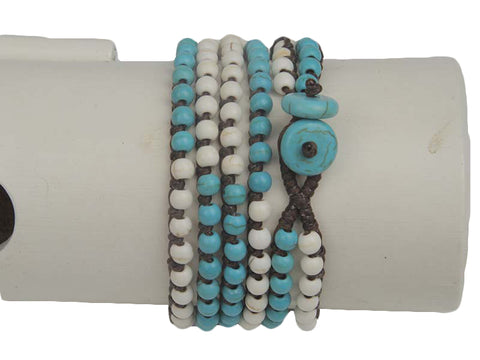 Clear Water Wrap Bracelet - Global Groove Life