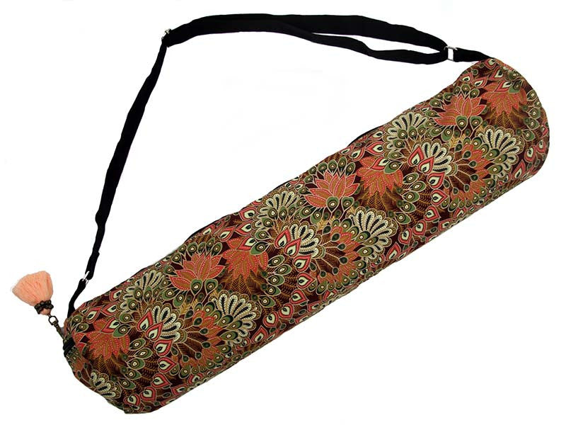 Yoga Mat Bag  Clay Peacock Yoga Mat Bag - Global Groove Life ... b6fe31c6232b2