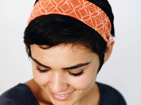 Flower of Life Yoga Headbands - Global Groove Life