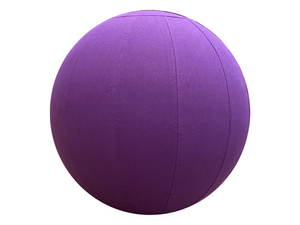 55cm Balance Ball / Yoga Ball Cover: Royal Purple