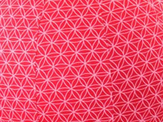 55cm Balance Ball / Yoga Ball Stretch Cover: Red Flower of Life - Global Groove Life