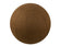 55cm Balance Ball / Yoga Ball Cover: Chocolate Geometric