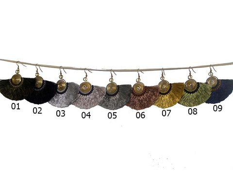 Bohemian Fringe Earrings - Available in 9 colors! - Global Groove Life