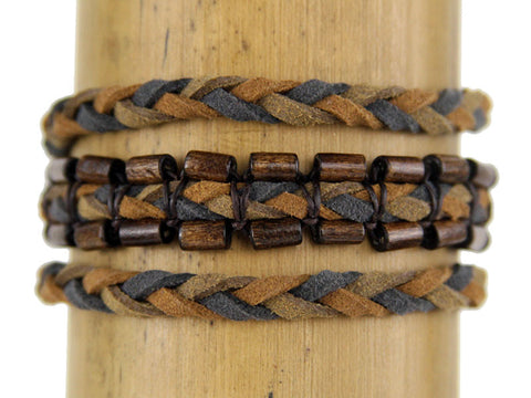 Men's Vegan Renaissance Wrap Bracelet - Global Groove Life