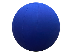 65cm Balance Ball / Yoga Ball Cover: Royal Blue