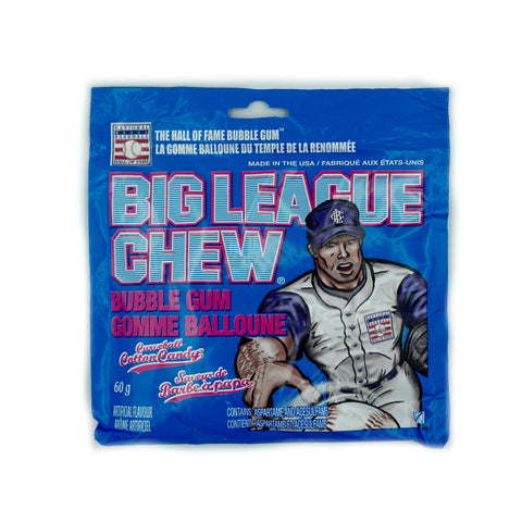 Big League Chew Curveball Cotton Candy