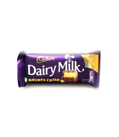 UK Dairy Milk Goldencrisp
