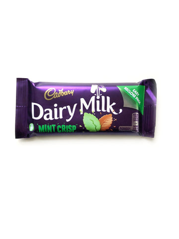 UK Dairy Milk Mint Crisp