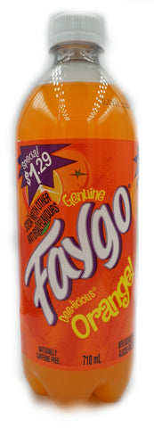 Faygo Orange 710mL