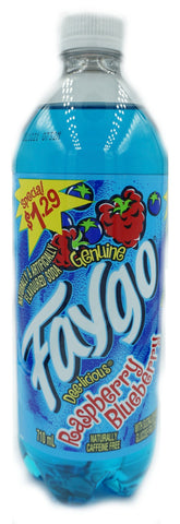 Faygo Raspberry Blueberry 710mL