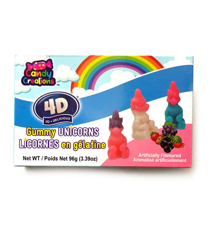 Gummy Unicorns Theatre Box