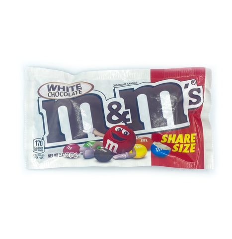 M&M's White Chocolate Share Size