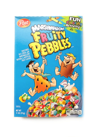Marshmallow Fruity Pebbles Cereal